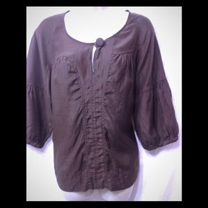 Women's size Large A.N.A. peasant blouse
